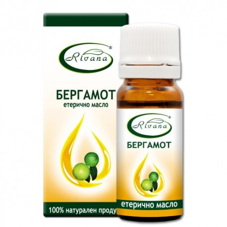 Бергамот - Citrus bergamia - 100% етерично масло