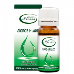 Love and Peace - Composition of 100% pure essential oils