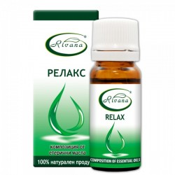 Relax - Composition of 100% pure essential oils