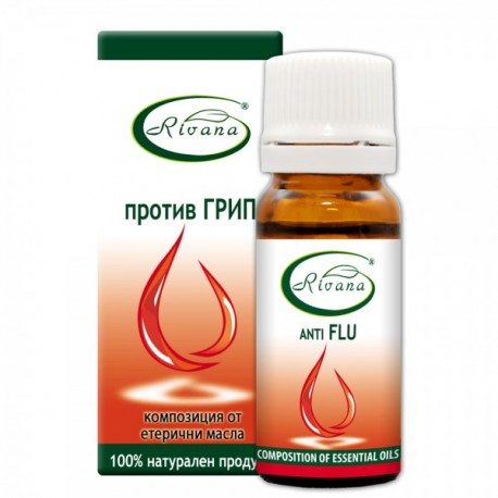 Anti Flu - Composition of 100% pure essential oils