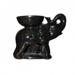Аромалампа - Слон - Черен