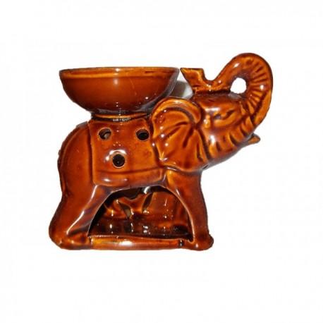 "Aroma lamp ""Elephant"" - brown"