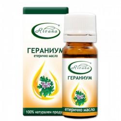 Гераниум - (Индрише) Pelargonium graveolens - 100% етерично масло
