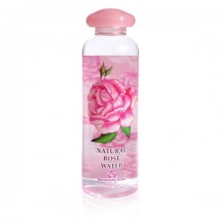 Natural rose water 330 ml.