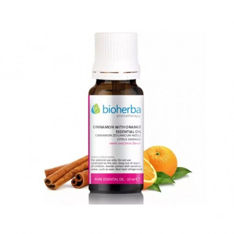 Cinnamon with Orange - essential oil 10 ml.