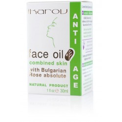 Anti-age face oil combined skin