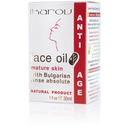 Anti-age face oil mature skin