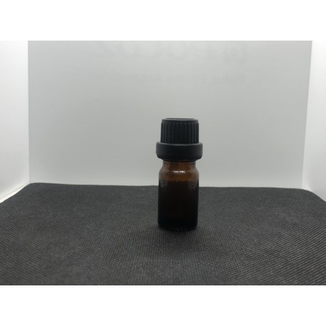 Glass bottle with euro dropper 5 ml.