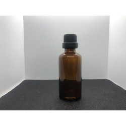 Glass bottle with euro dropper 50 ml.
