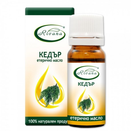 Кедър - Juniperus virginiana - 100% етерично масло