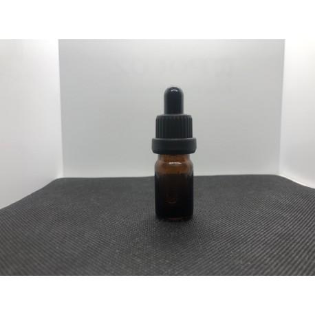 Стъклено шишенце с капкомер - 5 мл