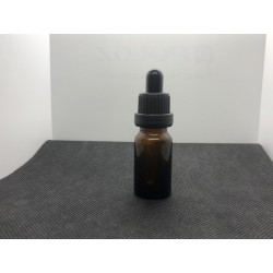 Glass bottle with euro dropper 10 ml