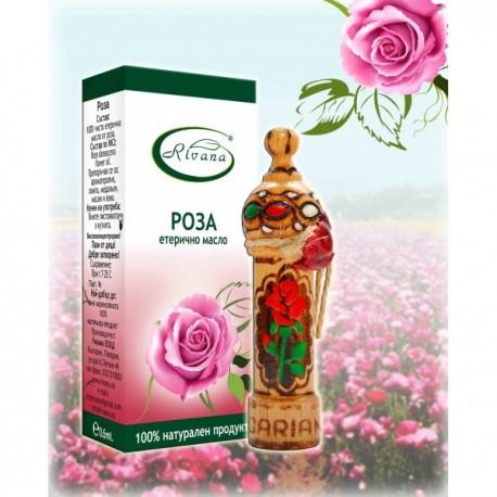 Розово масло - Rosa damascene - 100% етерично масло
