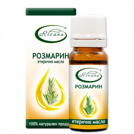 Розмарин - Rosmarinus officinalis - 100% етерично масло